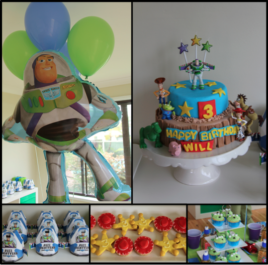 To Infinity And Beyond A Boy S Toy Story Themed Birthday Party
